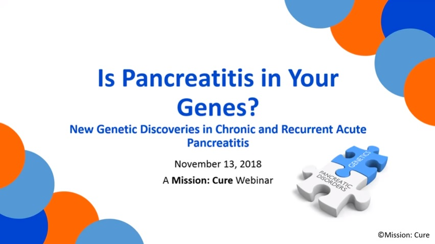 Pancreatitis and Genetics: New Science Shows Pancreatitis Likely to be Hereditary